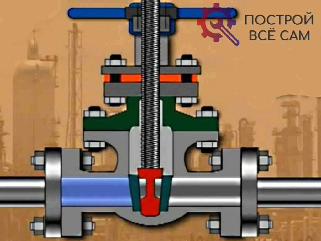 Принцип работы клиновой аппаратуры напрямую зависит от положения выдвижного штока