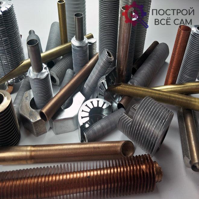 Ребренные трубы широко используются в отопительных системах, так как обладают отличной герметичностью и теплопроводимостью